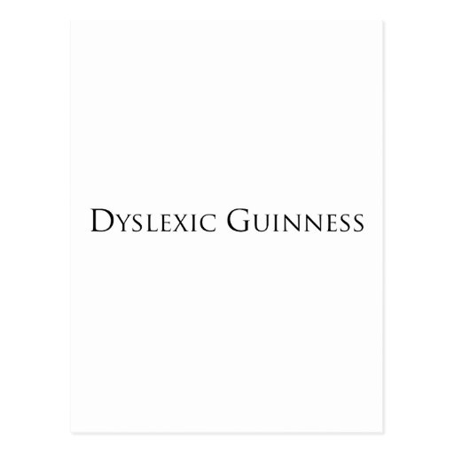 dislexic guiness- black.png post cards