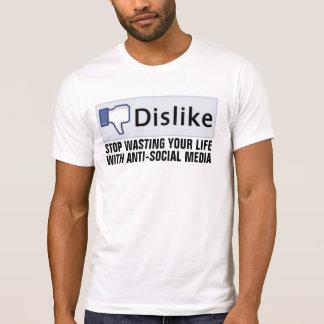 DISLIKE social media T-shirts