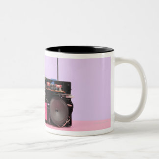 Dismantled Portable Stereo Coffee Mugs