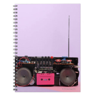 Dismantled Portable Stereo Journals