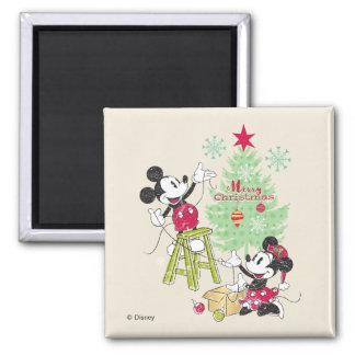 Disney   Mickey & Minnie   Classic Christmas Tree Magnet