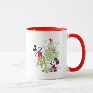 Disney | Mickey & Minnie | Classic Christmas Tree Mug