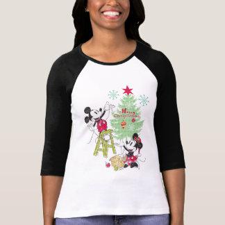 Disney | Mickey & Minnie | Classic Christmas Tree T-Shirt