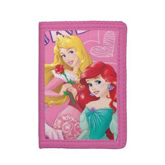 Disney Princess | Aurora and Ariel Tri-fold Wallet