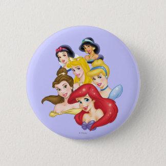 Disney Princess | Princesses Portraits 6 Cm Round Badge