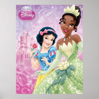 Disney Princess | Snow White and Tiana Poster