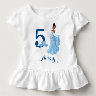 Disney Princess   Tiana Birthday Toddler T-Shirt