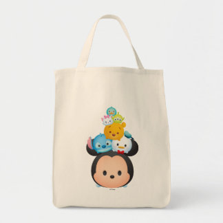 "Disney ""Tsum Tsum"" Short Stack Grocery Tote Bag"