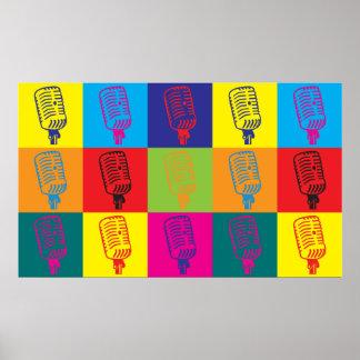 Dispatch Pop Art Poster