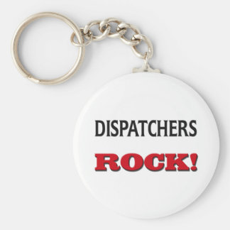 Dispatchers Rock Basic Round Button Key Ring