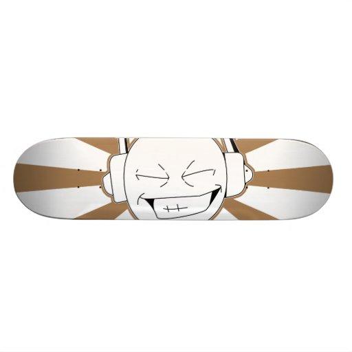 Disperse-L (Tan) Skateboard Deck