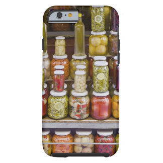Display of pickled fruits and vegetables. tough iPhone 6 case