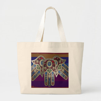 DISPLAY only :Decorative Religious ICONS Tote Bag