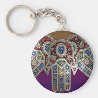 DISPLAY only :Decorative Religious ICONS Keychain
