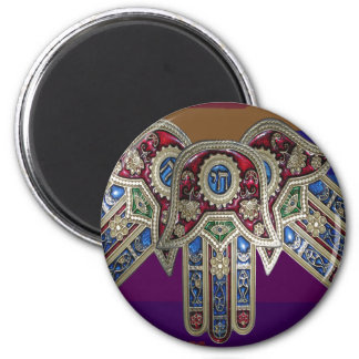 DISPLAY only :Decorative Religious ICONS 6 Cm Round Magnet