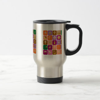 DISPLAY only :Decorative Religious ICONS Mug