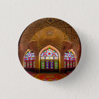 DISPLAY with respect: Religious Place of Worship 3 Cm Round Badge