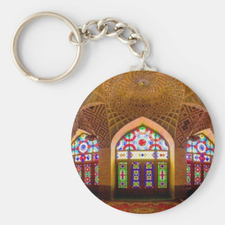 DISPLAY with respect: Religious Place of Worship Key Ring