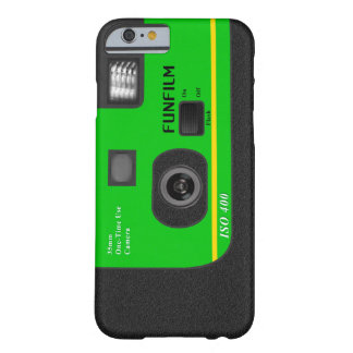Disposable Camera - I6 Green Barely There iPhone 6 Case