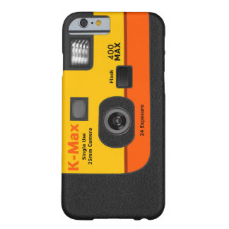 Disposable Camera - I6 Orange Barely There iPhone 6 Case
