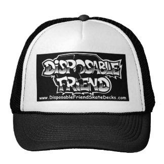 Disposable Friend Cap