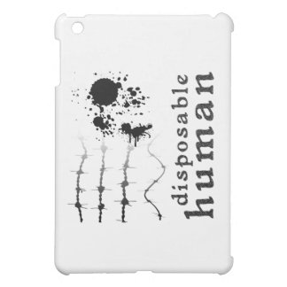 Disposable Human iPad Mini Case