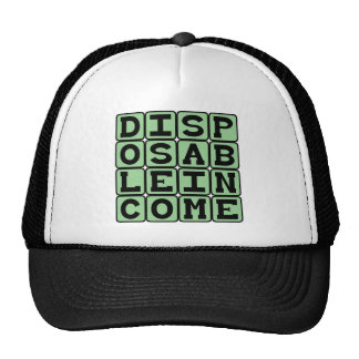 Disposable Income, Extraneous Money Trucker Hats