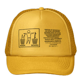dispose of separately cap
