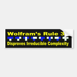 "Disproof of ""Irreducible Complexity"" Bumper Sticker"