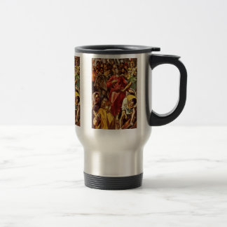 Disrobing Of Christ By Greco El Mug