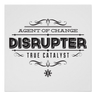DISRUPTER Bold Star Posters