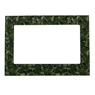 Disruptive khaki camouflage magnetic frame