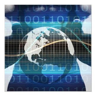 Disruptive Technologies or Technology Disruptor 13 Cm X 13 Cm Square Invitation Card