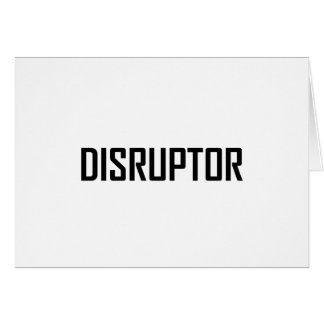 Disruptor Technology Business Card