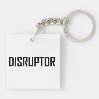 Disruptor Technology Business Key Ring
