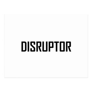 Disruptor Technology Business Postcard
