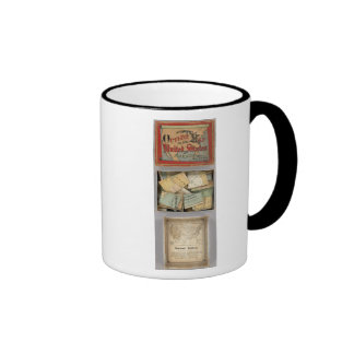 Dissected Outline Map, United States of America Coffee Mug