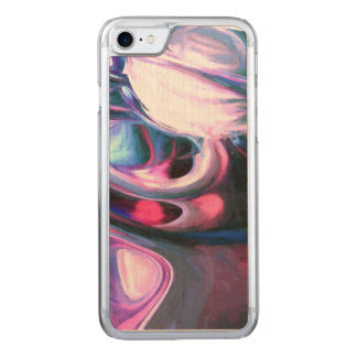 Dissolving Imagination Painted Abstract Carved iPhone 8/7 Case