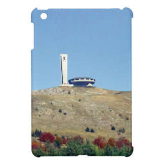 Distant Buzludzha, Balkan Mountains, Bulgaria Cover For The iPad Mini