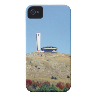 Distant Buzludzha, Balkan Mountains, Bulgaria iPhone 4 Cover