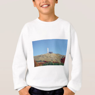 Distant Buzludzha, Balkan Mountains, Bulgaria Sweatshirt