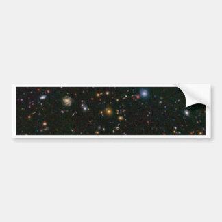 Distant Galaxy Bursts with Stars Bumper Sticker