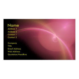 Distant Horizon Pack Of Standard Business Cards
