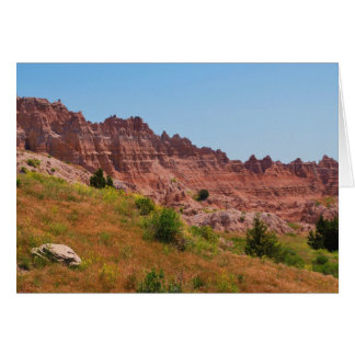 """""""Distant Red Cliffs"""" collection Card"""
