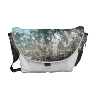 Distant Shores - Abstract Art Courier Bags