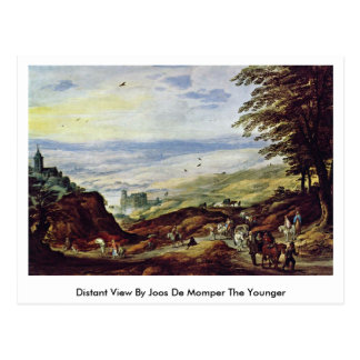 Distant View By Joos De Momper The Younger Postcard