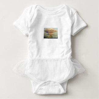 Distant Volcano Baby Bodysuit