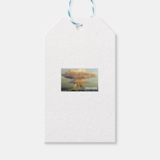 Distant Volcano Gift Tags