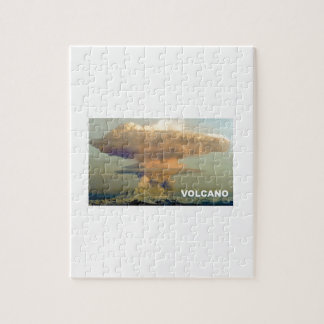 Distant Volcano Jigsaw Puzzle