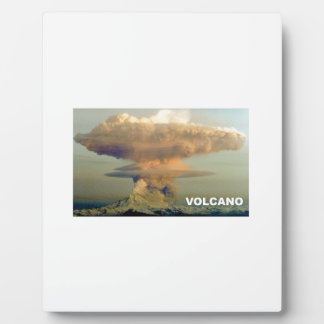 Distant Volcano Plaque